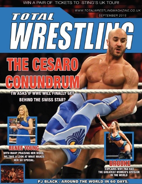 Total Wrestling Magazine September 2015