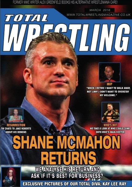 Total Wrestling Magazine March 2016