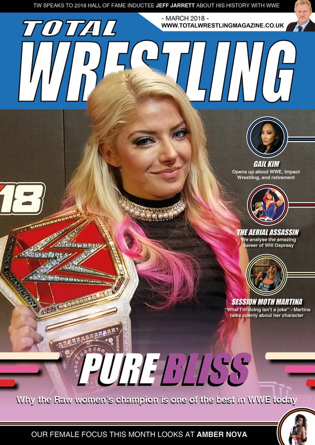 Total Wrestling Magazine March 2018