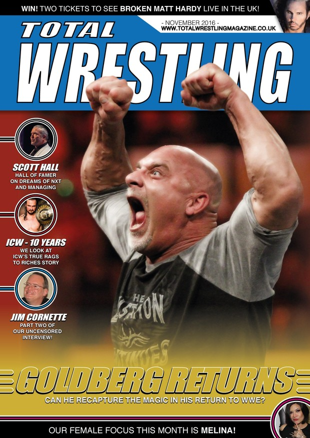 Total Wrestling Magazine November 2016