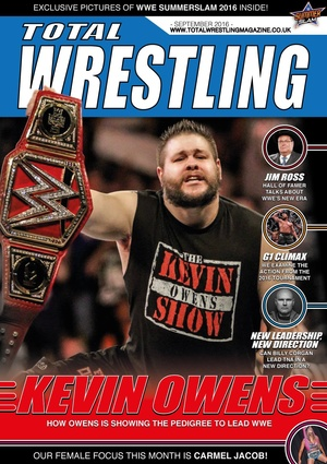Total Wrestling Magazine September 2016