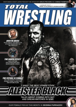 Total Wrestling Magazine August 2017