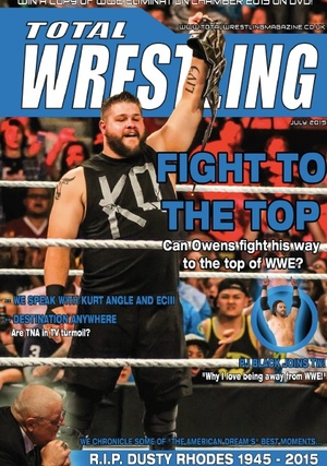 Total Wrestling Magazine July 2015