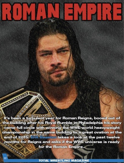 Total Wrestling Magazine January 2016