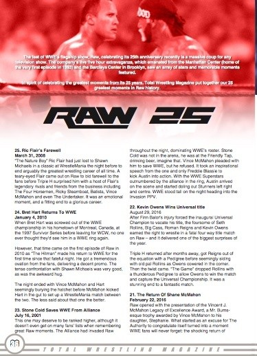 Total Wrestling Magazine January 2018