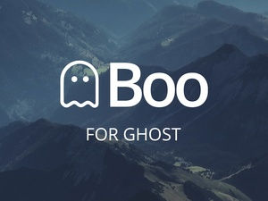 Boo - A Clean Theme for Ghost