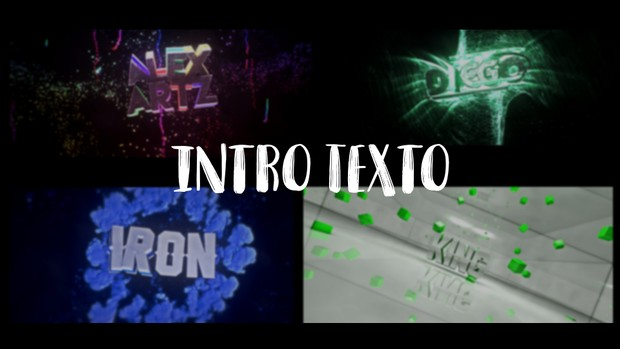 INTRO TEXTO MULTISTYLE 1080P 60FPS!
