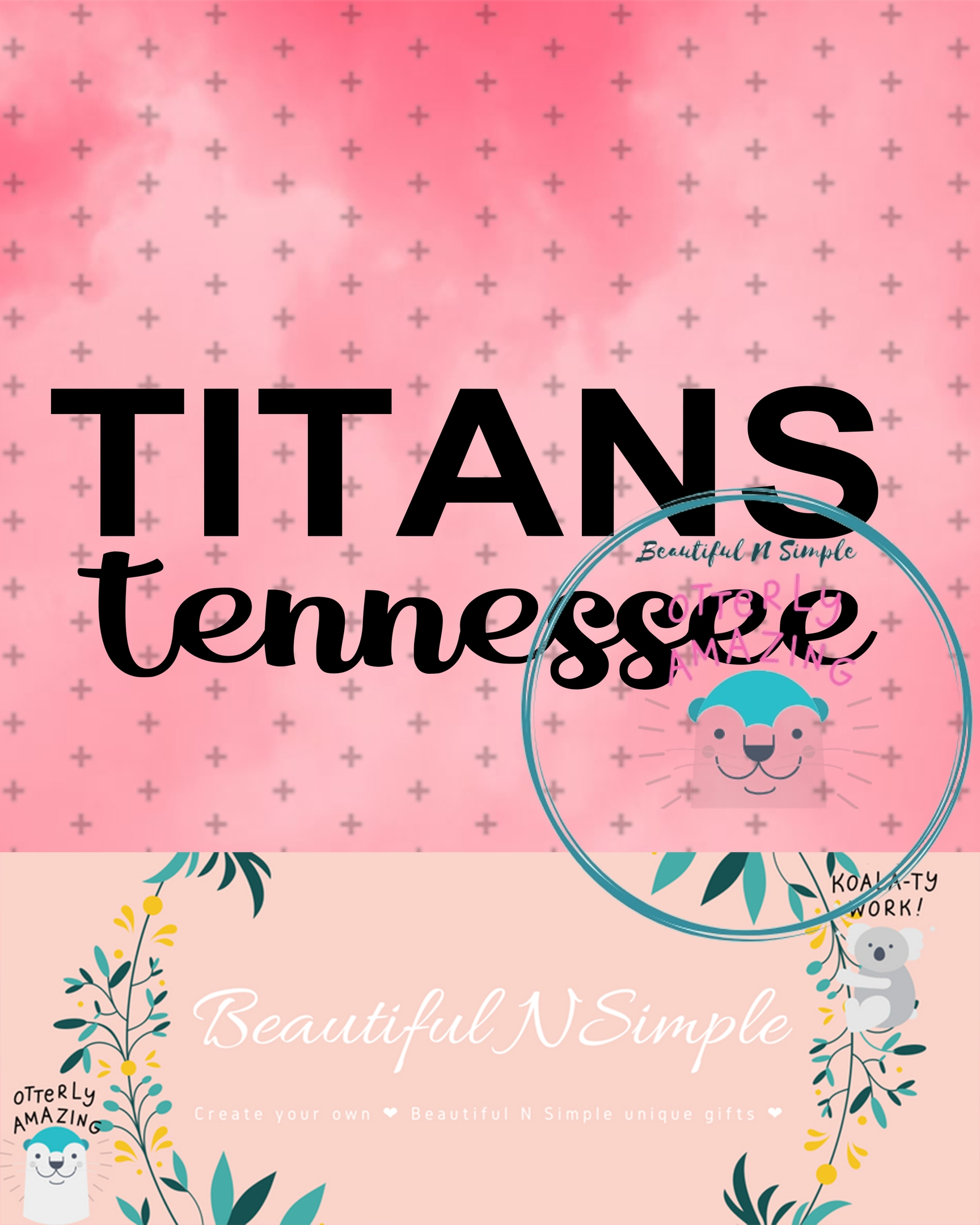 Titans Tennessee Svg And Dxf File Beautifulnsimple