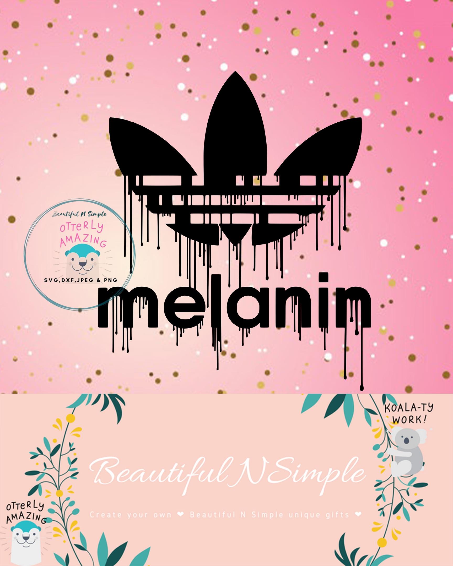 Melanin Adidas Dripping Drip Svg Dxf File Beautifulnsimple