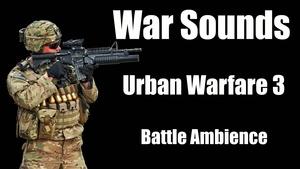 Ambience Hub - War Sounds - Urban Warfare 3