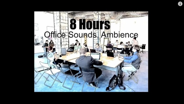 Ambience Hub - Office Sounds - 8 Hours