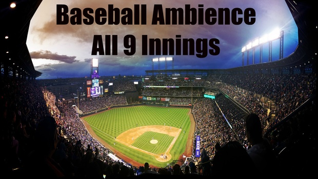 Ambience Hub - Baseball Ambience - All 9 Innings