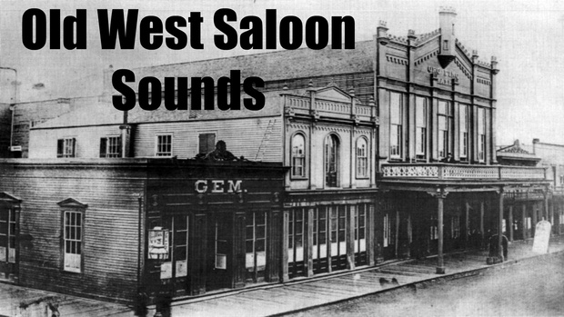 Ambience Hub - Old West Saloon Sounds - 1 Hour