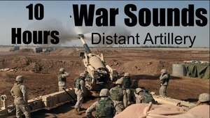Ambience Hub - War Sounds - Distant Artillery - 10 Hours
