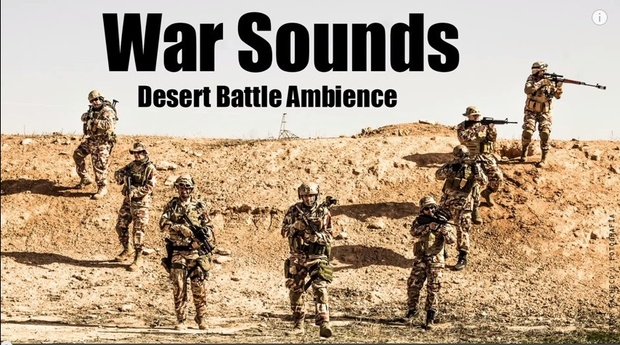 Ambience Hub - War Sounds - Desert Battle