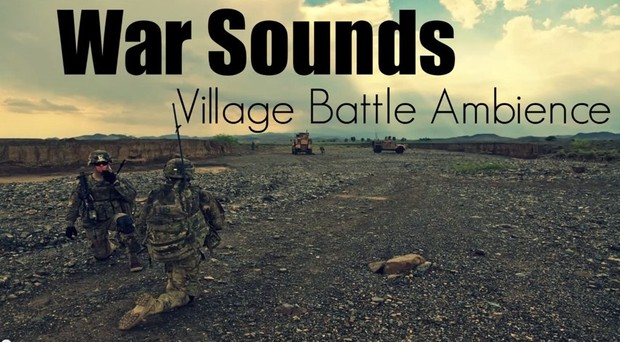 Ambience Hub - War Sounds - Village Battle