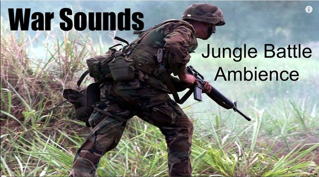 Ambience Hub - War Sounds - Jungle Battle
