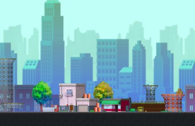 City - Platform Tileset