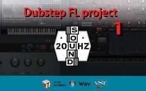Dubstep FL Studio project 1 (FL Studio 11)