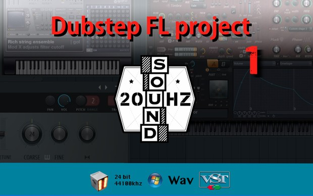 Dubstep FL Studio project 1 (FL Studio 11)