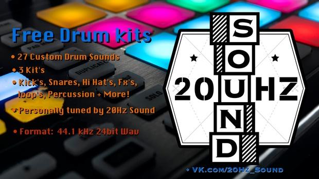 Free Drum sample's pack