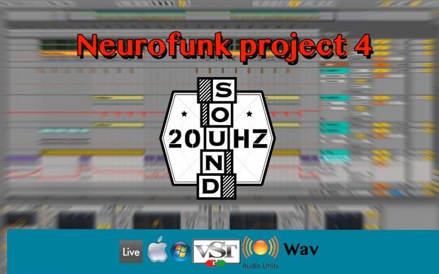 [Full]Neurofunk project 4[Ableton9/AU/VST/Audio]