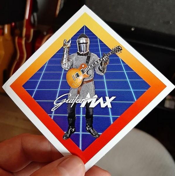 Sir Guitarsalot Sticker - 3 INCH