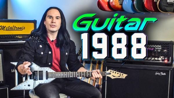 GUITAR 1988 - 1980's Style Guitar (Full Program)