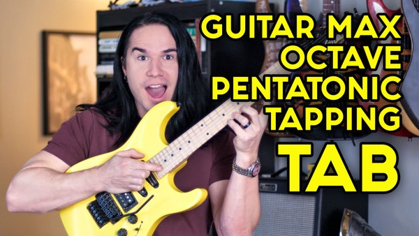Octave Pentatonic Tapping FREE TAB