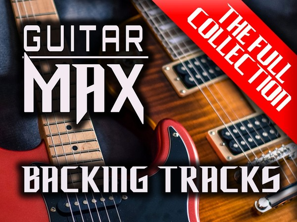 Guitar MAX Backing Tracks - Rock and Metal Collection! 33 Tracks!