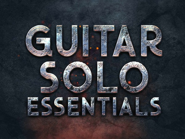 GUITAR SOLO ESSENTIALS - Video + TABs + Backing Tracks!