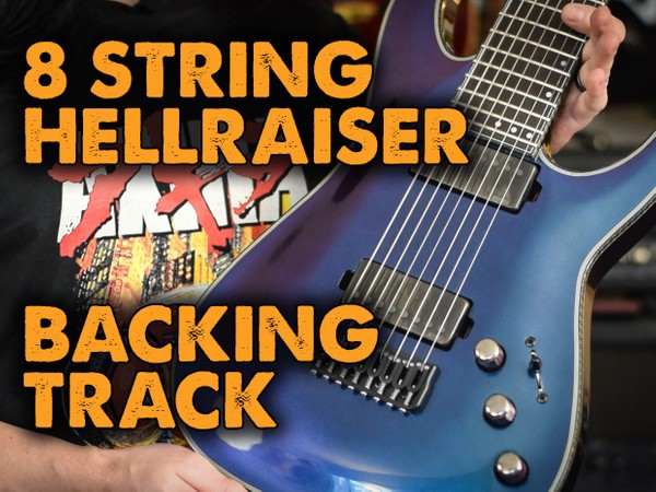 8 String Backing Track