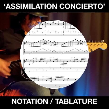 ASSIMILATION CONCIERTO / CATALINA CONCERTO sheet music