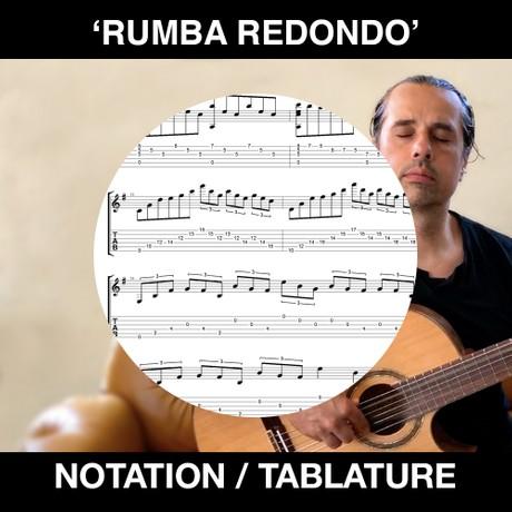 RUMBA REDONDO (Tabs & Notation)