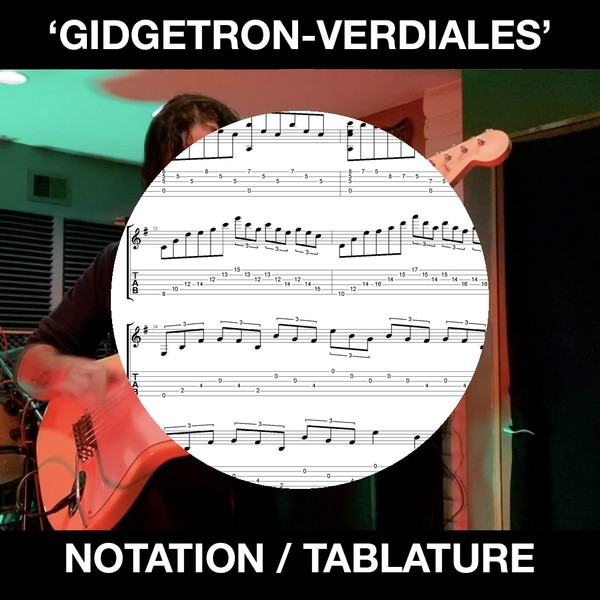 Gidgetron (Verdiales) Tabs and Notation