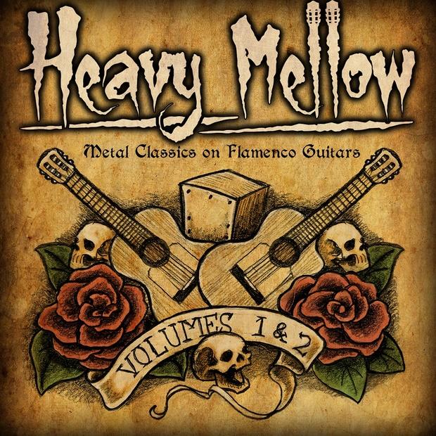 HEAVY MELLOW Volumes 1 & 2 (Metal Classics on Flamenco Guitars) - Double Album (MP3)
