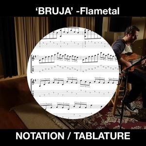 BRUJA - Flametal - for SOLO FLAMENCO GUITAR - Ben Woods