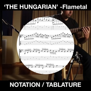 THE HUNGARIAN - Flametal - SOLO GUITAR - Ben Woods