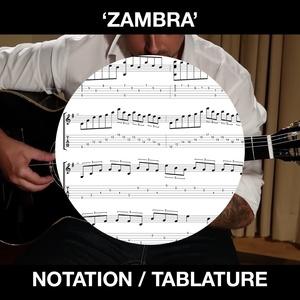 ZAMBRA - Flametal - SOLO GUITAR - Ben Woods