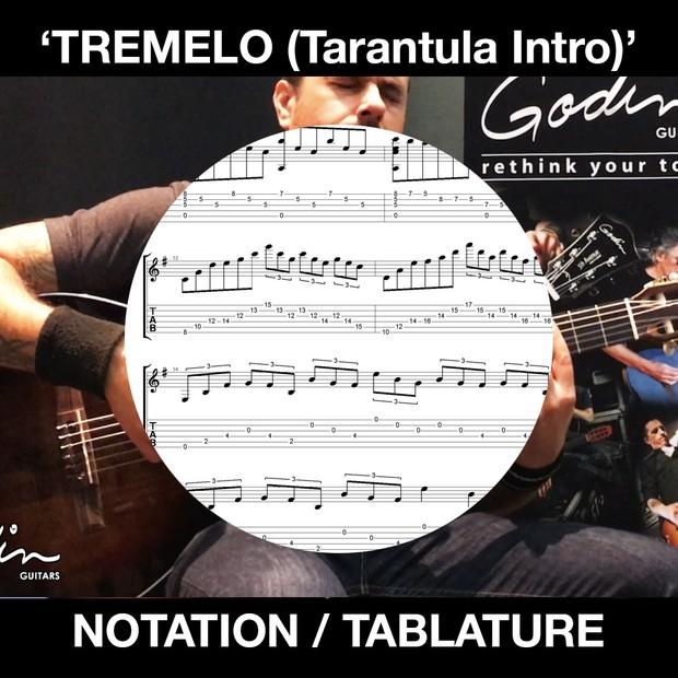 TREMELO (Tarantula Intro) - Solo Guitar