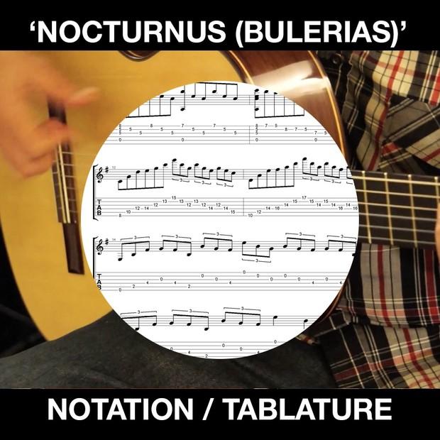 NOCTURNUS (Bulerias-short) - SOLO FLAMENCO GUITAR - Ben Woods
