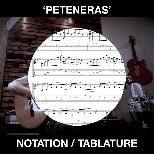 Peteneras - Ben Woods - Flamenco Guitar Tabs/Notation