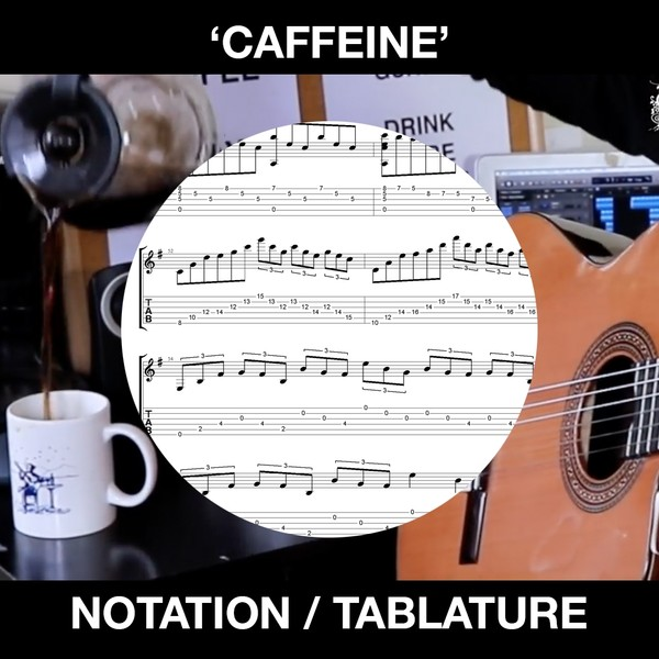 Caffeine - Ben Woods Flamenco Guitar - TABS!