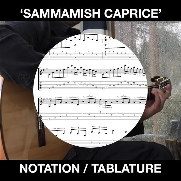 Sammamish Caprice - SOLO FLAMENCO GUITAR tabs/notation - Ben Woods