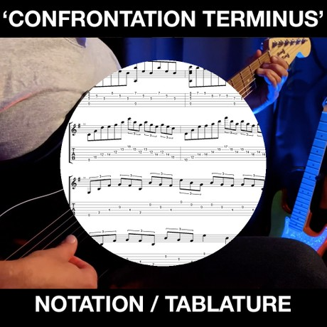Confrontation Terminus - Tabs and Notation
