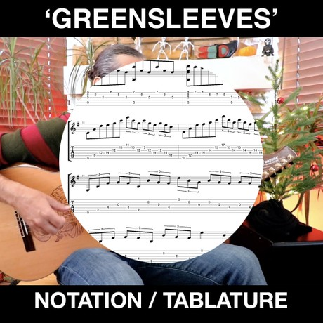 GREENSLEEVES (Flamenco-shred version)