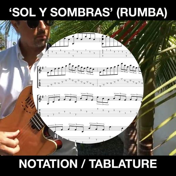 Sol y Sombras - Flamenco Guitar Rumba - Ben Woods