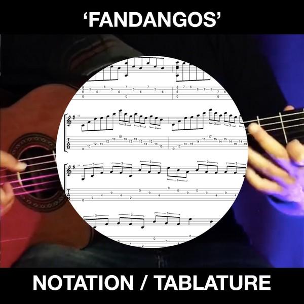 Fandangos - Flamenco Guitar (Notation and Tablature)