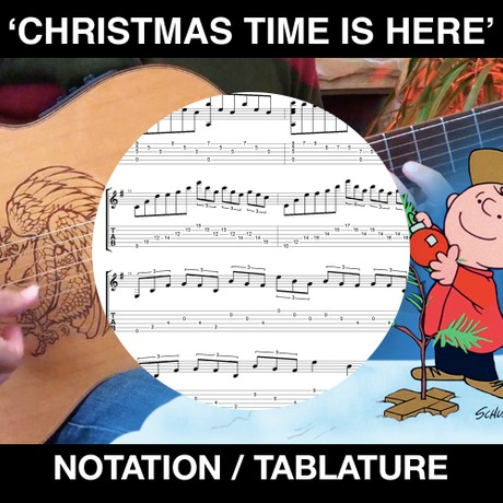 CHRISTMAS TIME IS HERE (TABS AND NOTATION)