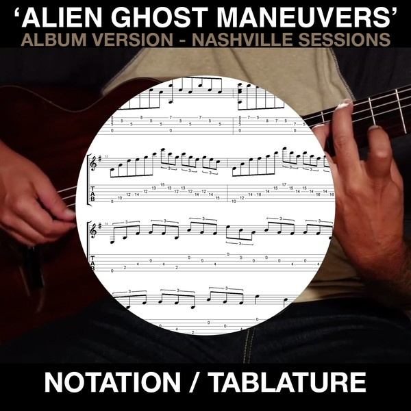 Alien Ghost Maneuvers (from Nashville Sessions album)